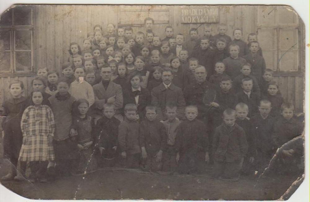 Barstyčių pradinės mokyklos mokiniai