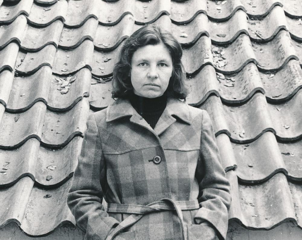 Birutė Vilniuje. Apie 1980 m. J. Grikienio fotografija