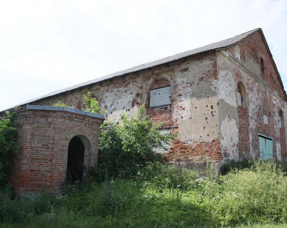 Buvusi Valtarkiemio (dabar Olchovatka) bažnyčia, statyta 1607 m. K. Donelaitis čia svečiuodavosi pas bičiulį kunigą ir vertėją Pilypą Ruigį