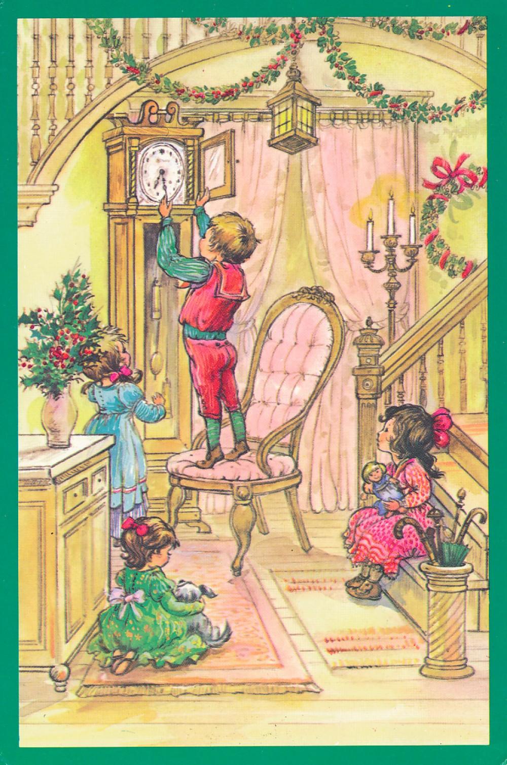 D. Mongirdaitės Kalėdų ir Naujųjų metų sveikinimas S. Santvarui. JAV, 1980 m.
