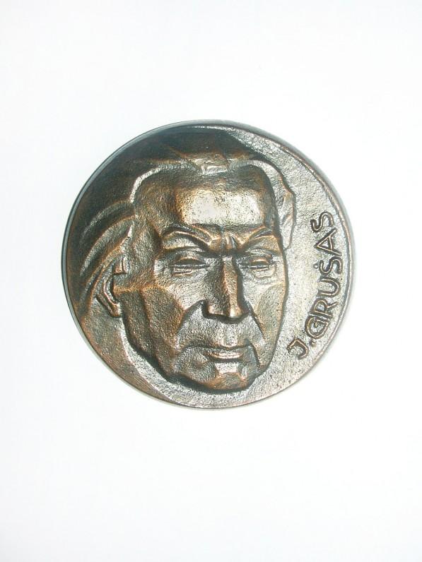 """Dailininkas Petras Baronas. Medalis """"J. Grušas"""". Varis. 1984 m. rugsėjo 10 d."""