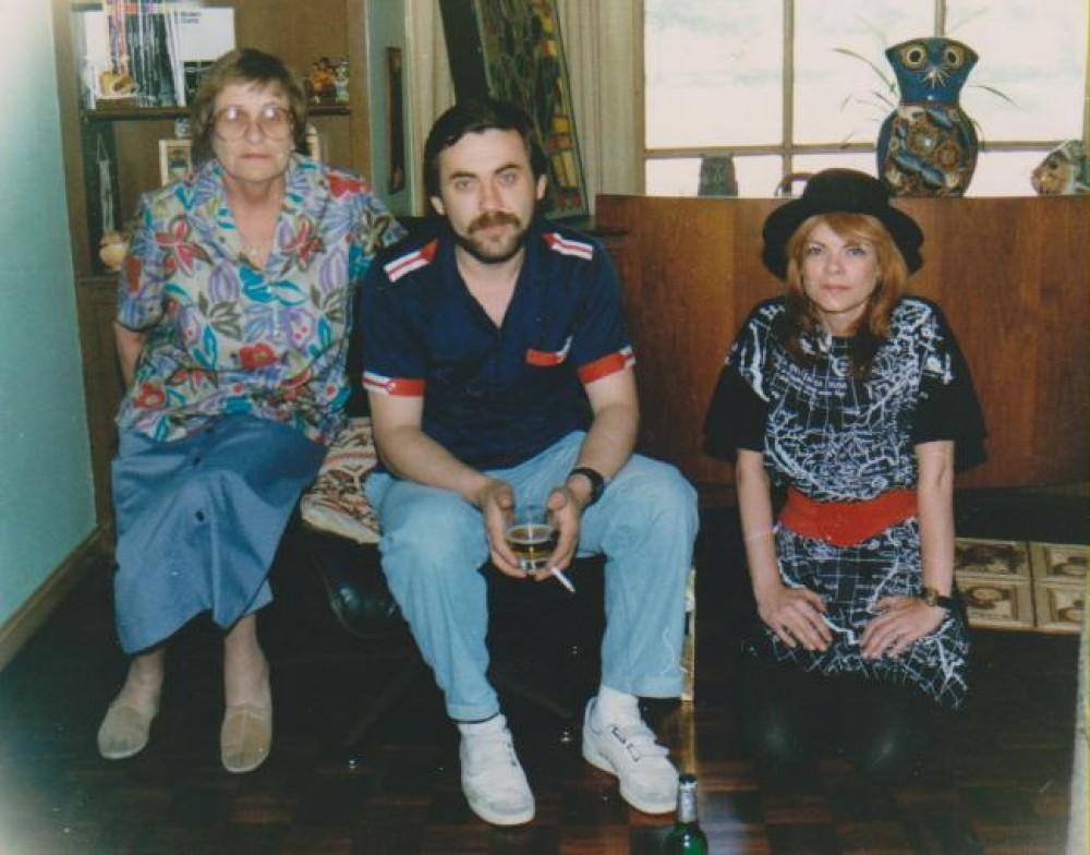 Dalia Sruogaitė, Kostas Smoriginas, Aušrinė Byla. Čikaga, 1988 m.