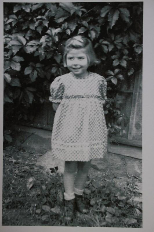 Danutė Paulauskaitė. Apie 1951 m.