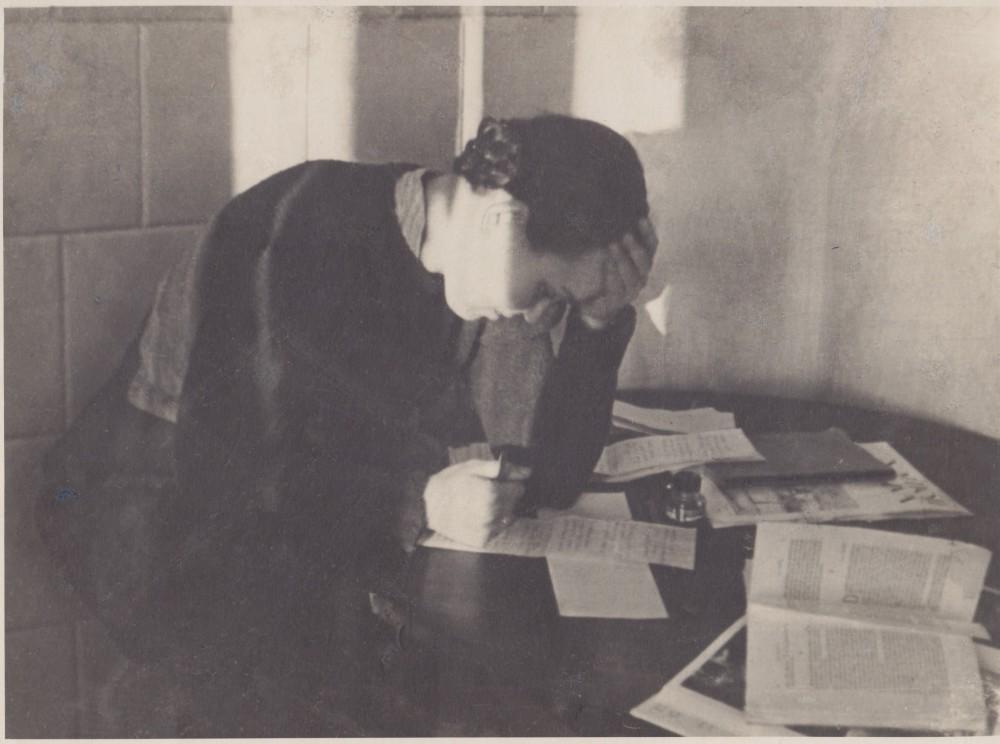 Darbo kambaryje. Palemonas. Apie 1939 m.