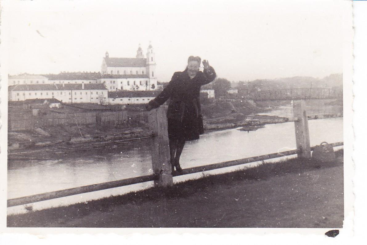 Elena Viktorija Nakaitė. Vilnius, apie 1944 m.