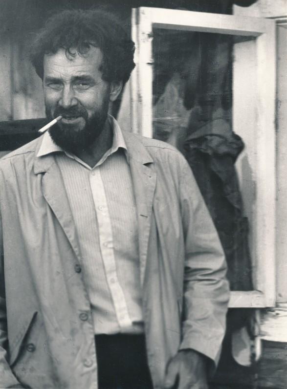 Eugenijus Ignatavičius. 1986 m. O. Pajedaitės nuotrauka