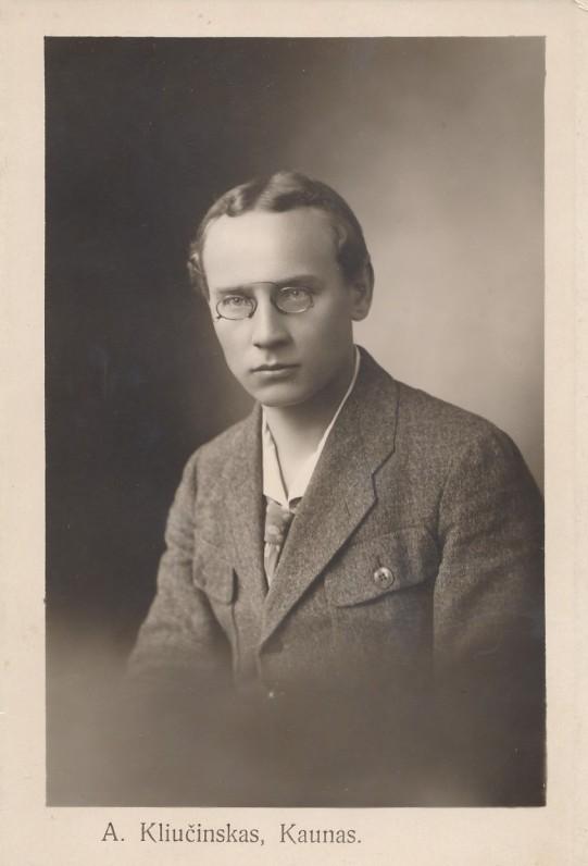 F. Kirša apie 1920 m.