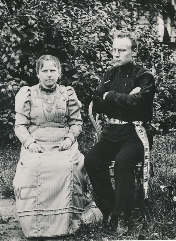 F. Kirša su teta V. Bukelskyte