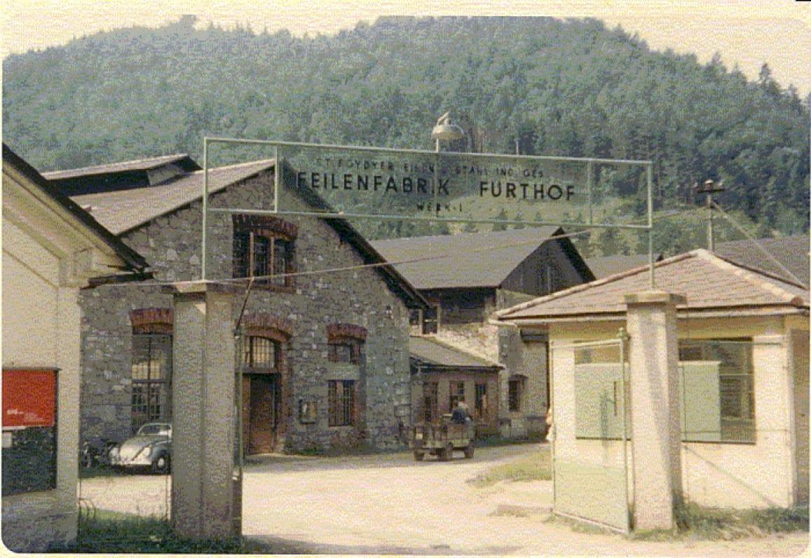 Furthofo plieno fabrikas. Apie 1970 m.