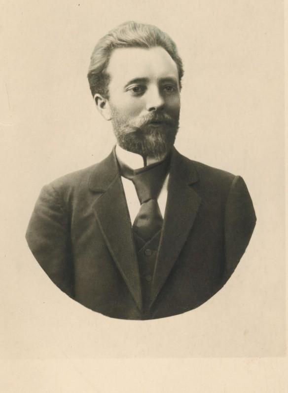 G. Petkevičaitės bičiulis Povilas Višinskis. Apie 1905 m.
