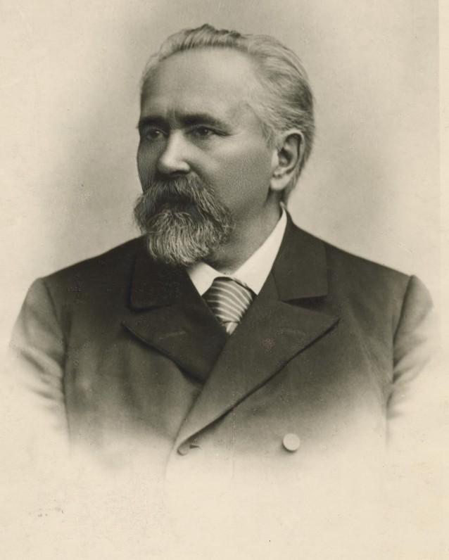G. Petkevičaitės tėvas gydytojas Jonas Leonas Petkevičius. Apie 1878 m.