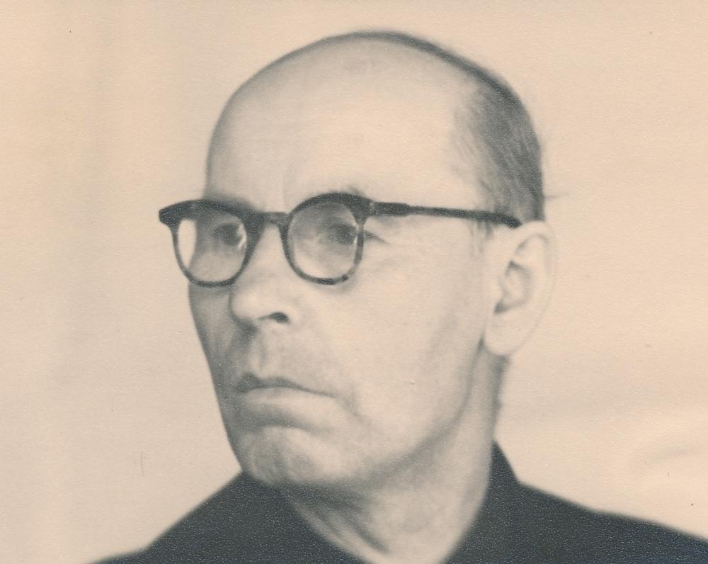 Grįžęs iš lagerio. Kaunas. 1958 m.