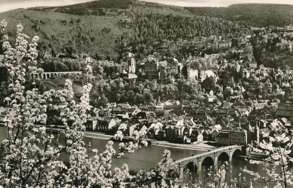 H. Radausko atvirlaiškis J. Blekaičiui iš Heidelbergo. 1961 m.