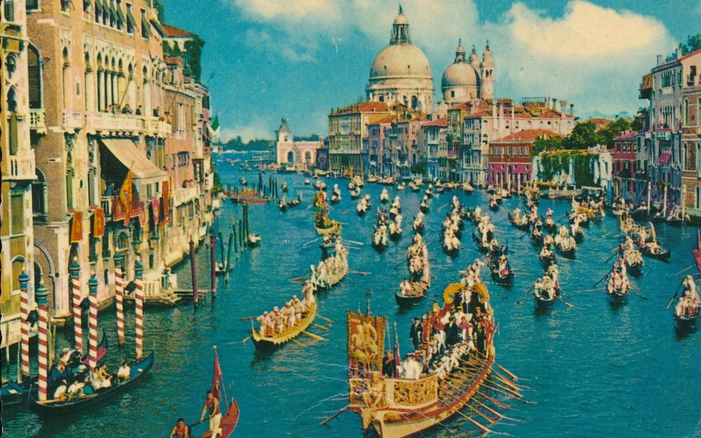 H. Radausko atvirlaiškis J. Blekaičiui iš Venecijos. 1961 m.