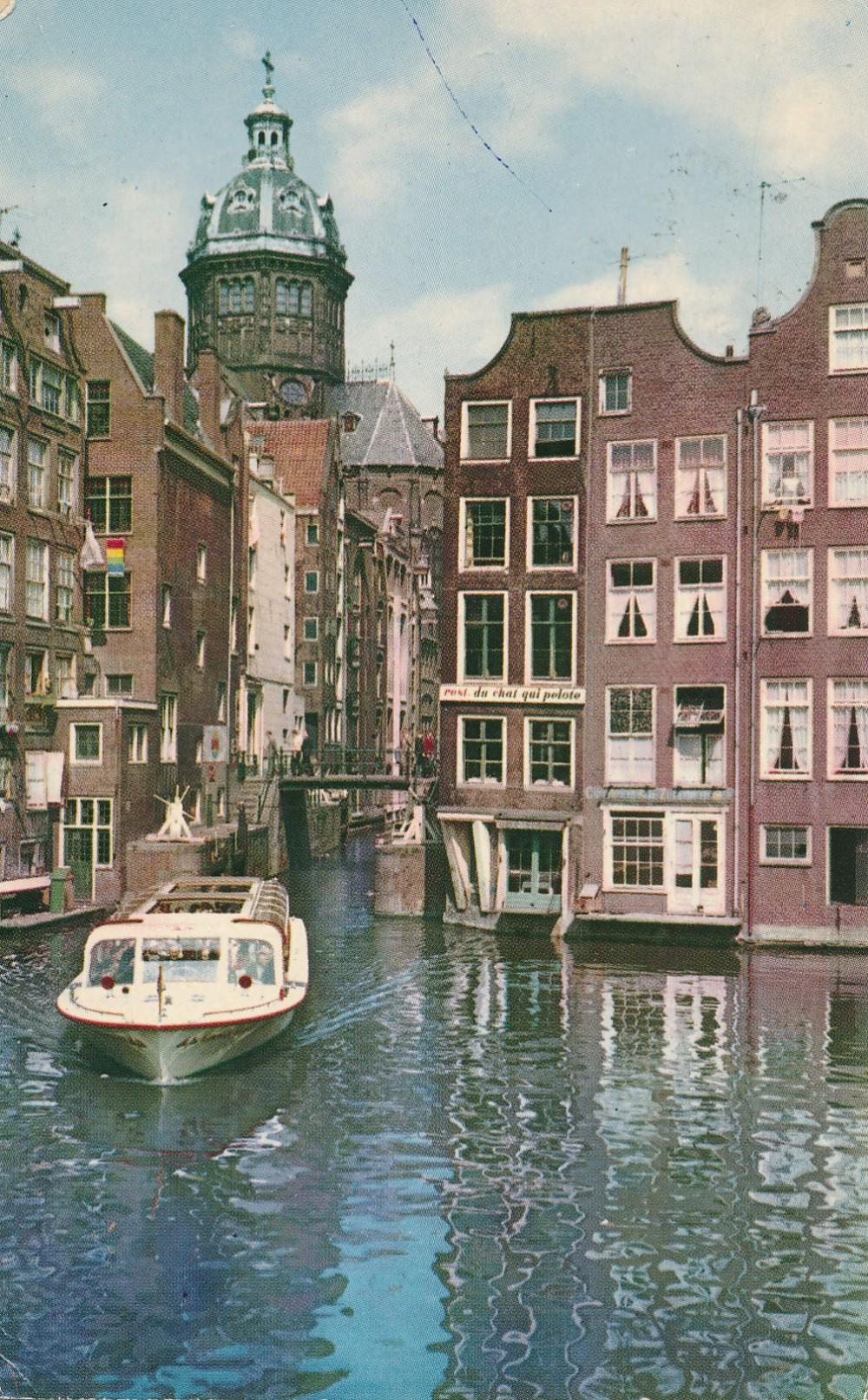 H. Radausko atvirlaiškis iš Amsterdamo. 1961 m.
