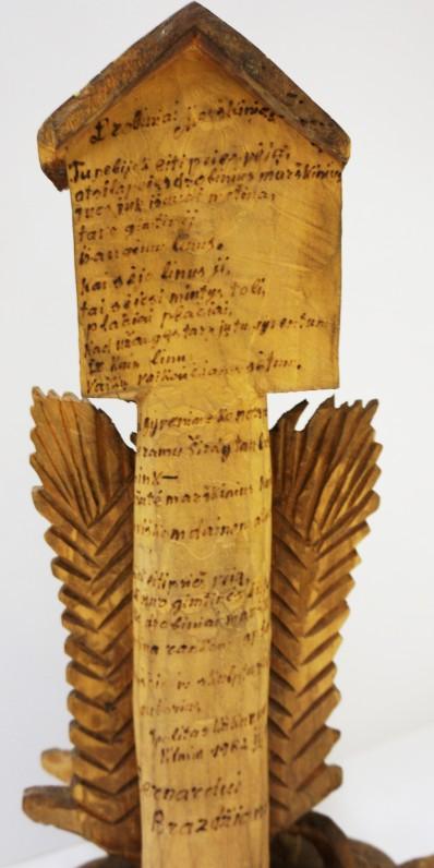 I. Užkurnio dedikacija-eilėraštis B. Brazdžioniui