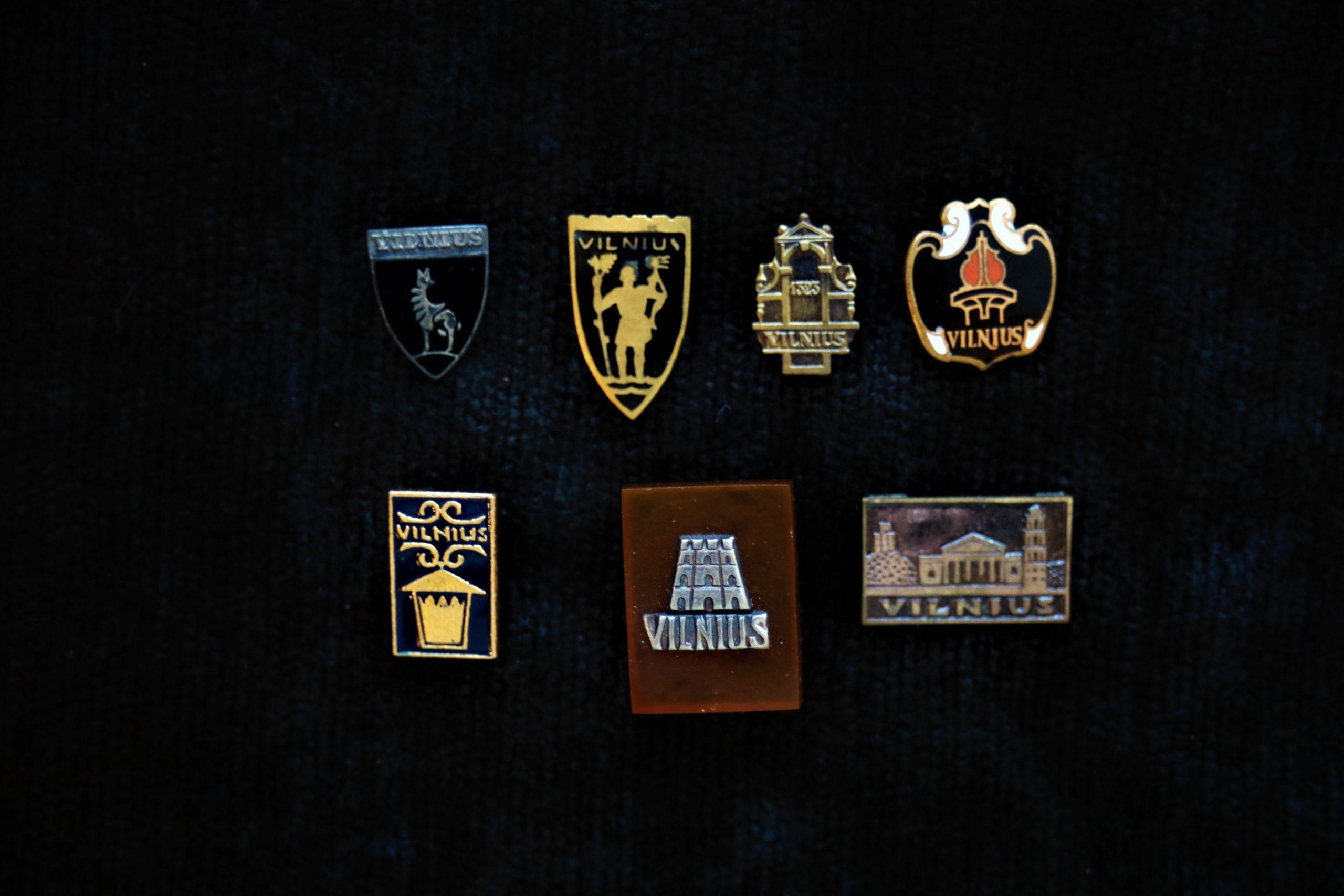 Vilniaus miestui skirti ženkleliai