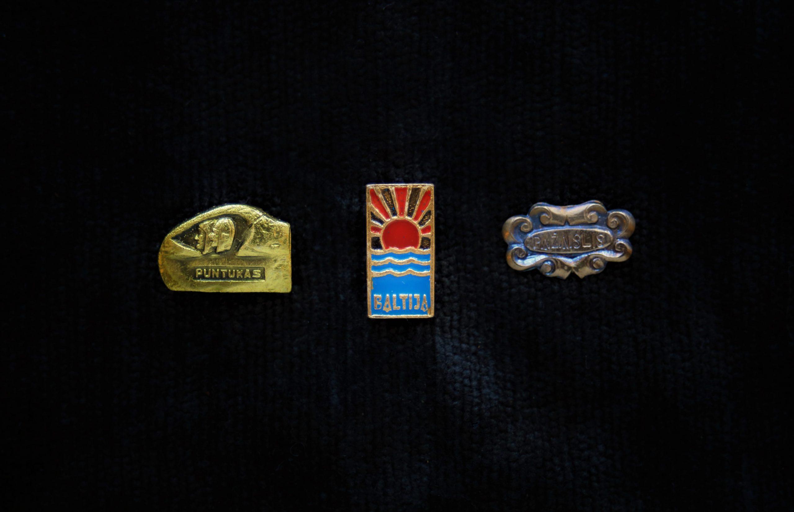 Puntukui, Baltijos jūrai ir Pažaislio vienuolynui skirti ženkleliai