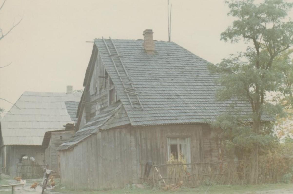 Išlikusi Būgių dvaro dalis. 1967 m.