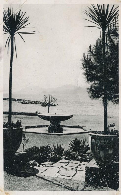 J. Aisčio atvirlaiškis A. Miškiniui iš Monte Karlo. 1939 m.
