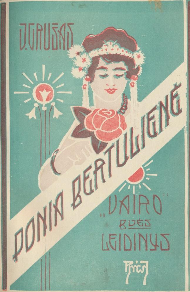 J. Grušas. Ponia Bertulienė. Kaunas, 1928