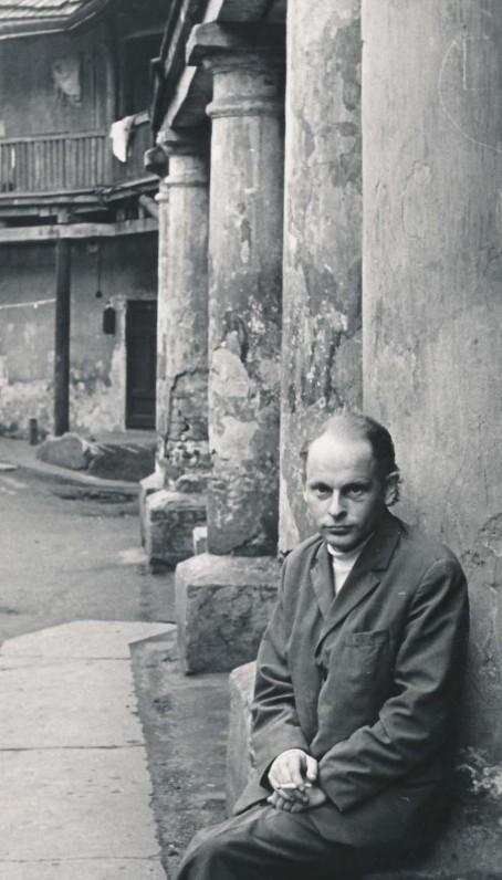 """J. Strielkūnas – """"Literatūros ir meno"""" skyriaus vedėjas. Vilnius.1969 m."""
