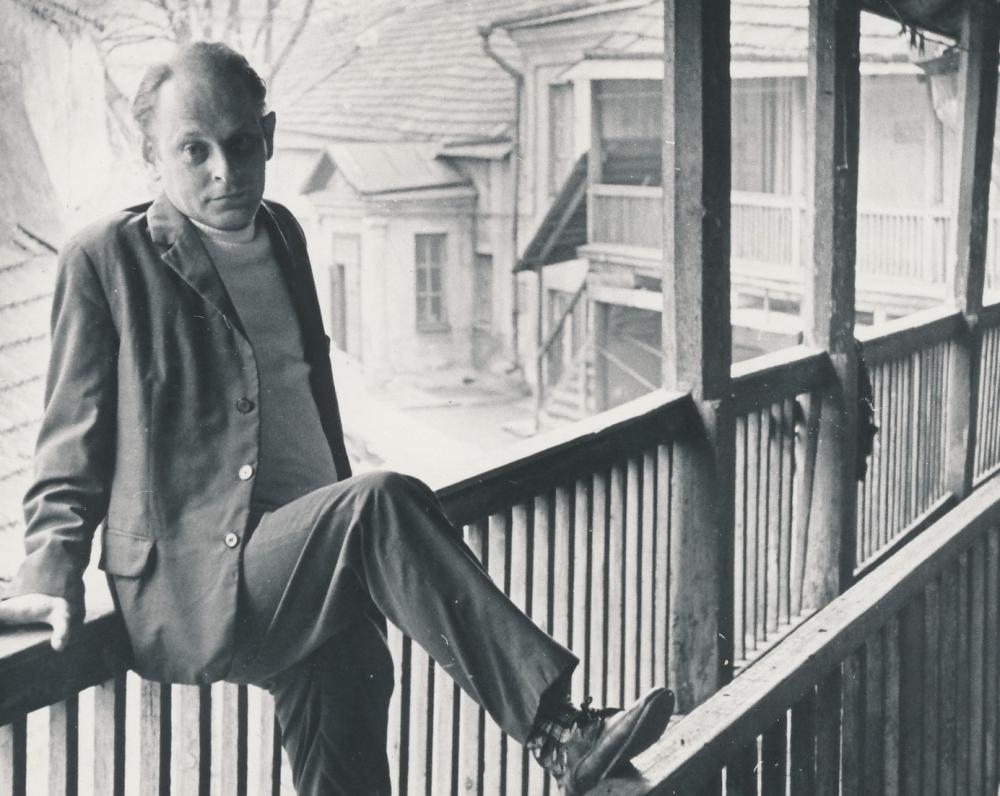 J. Strielkūnas Vilniuje. 1969 m.