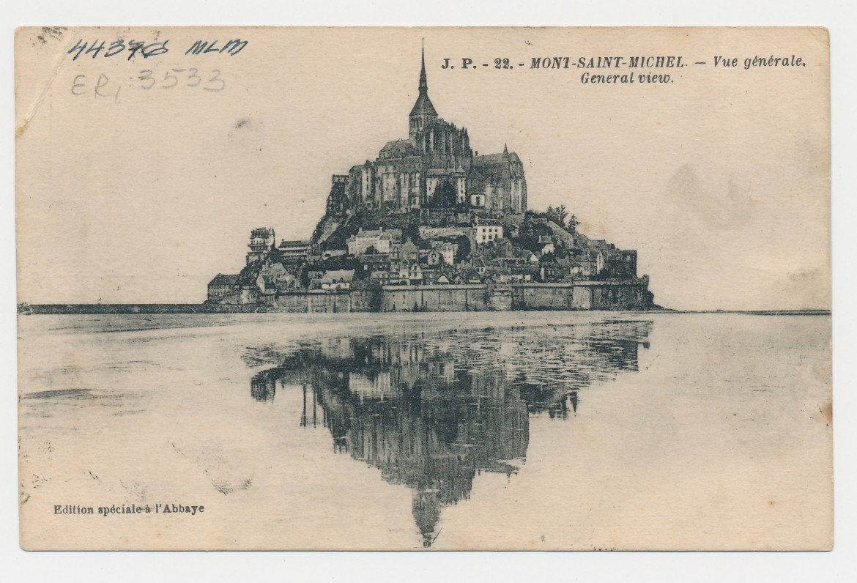 J. Tysliavos atvirlaiškis Pranciškui Stikliui nuo Sen Mišelio kalno. 1926 m.