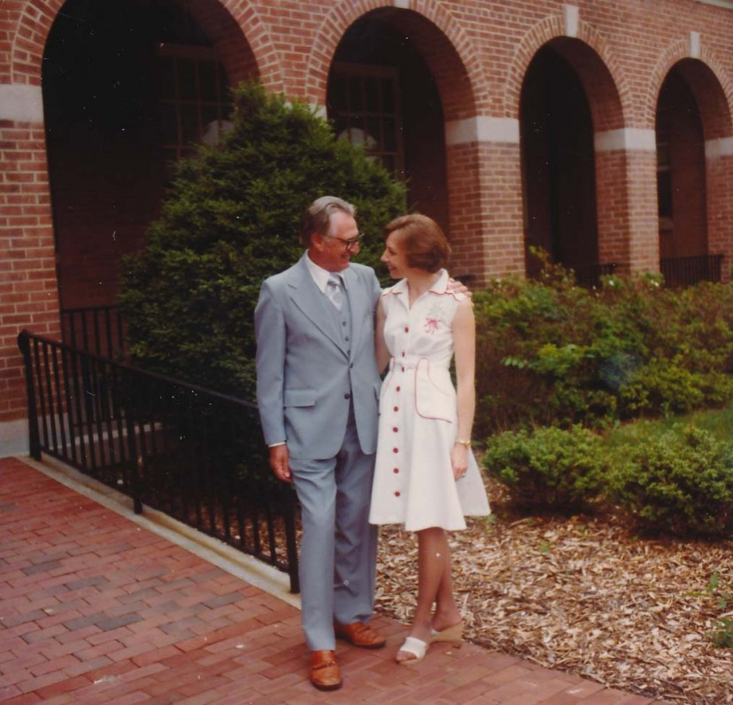 Jurgis ir Gražina Blekaičiai savo vestuvių dieną. Vašingtonas, 1978 m. birželio 7 d.