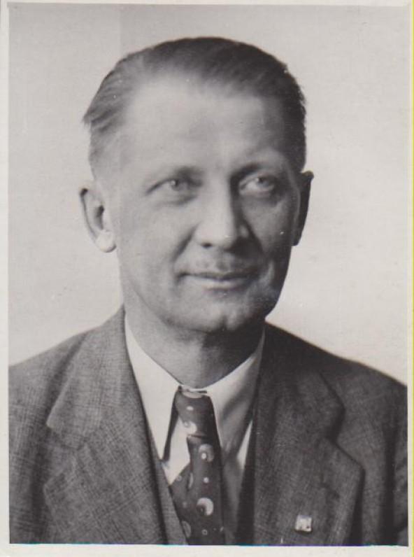 K. Jurgelionis. Apie 1950 m.