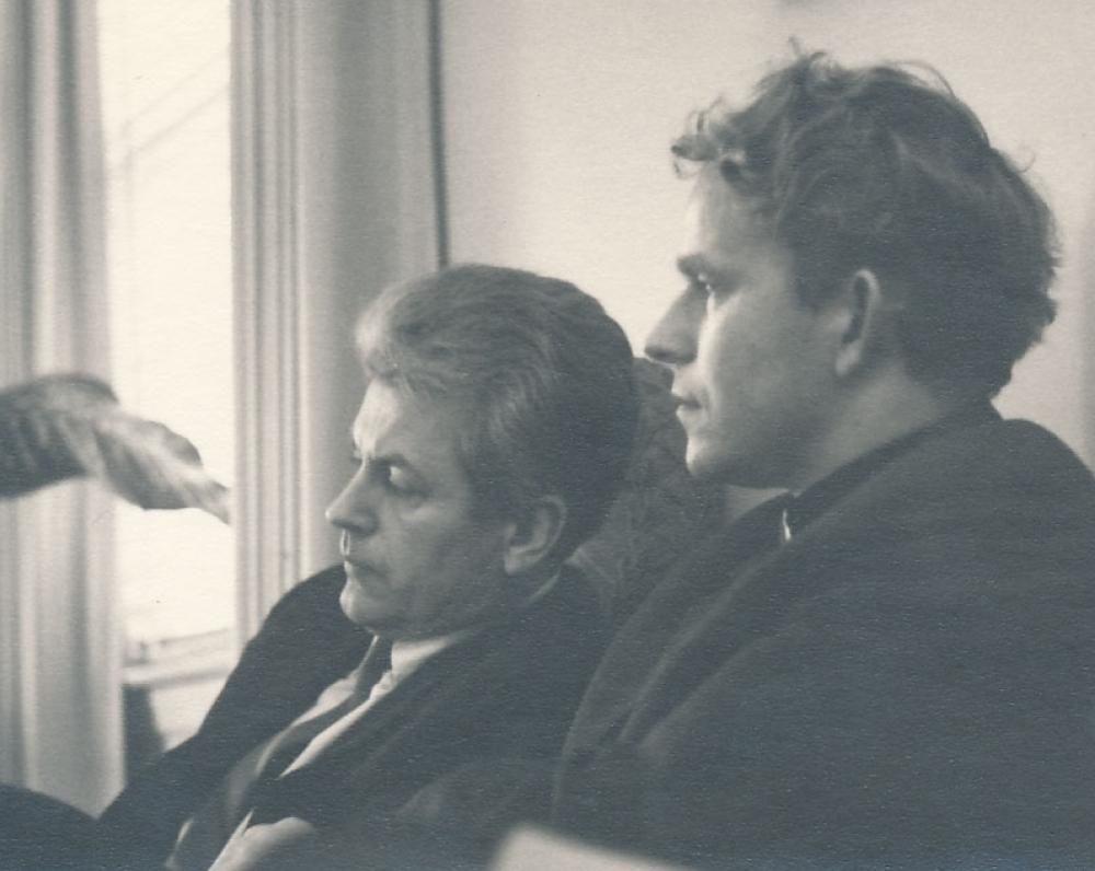 K. Ostrauskas ir K. Saja. JAV, 1975 m.