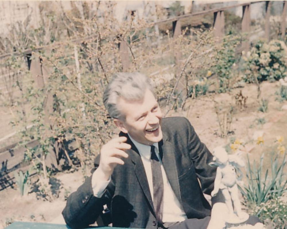 K. Ostrauskas. 1967 m.