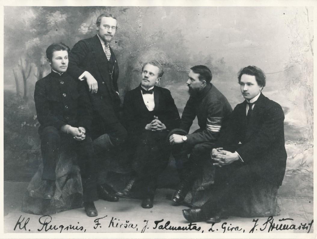 K. Ruginis, F. Kirša, J. Talmantas, L. Gira, J. Strimaitis