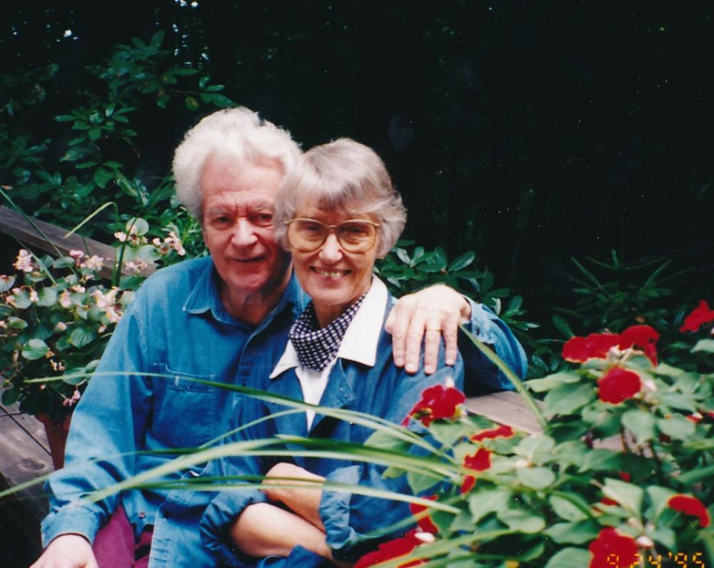 K. ir D. Ostrauskai. 1995 m.