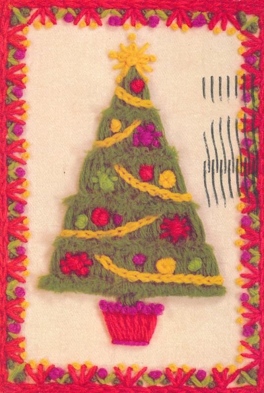 K. ir J. Puzinų Kalėdų ir Naujųjų metų sveikinimas A. ir S. Santvarams. JAV, 1976 m.