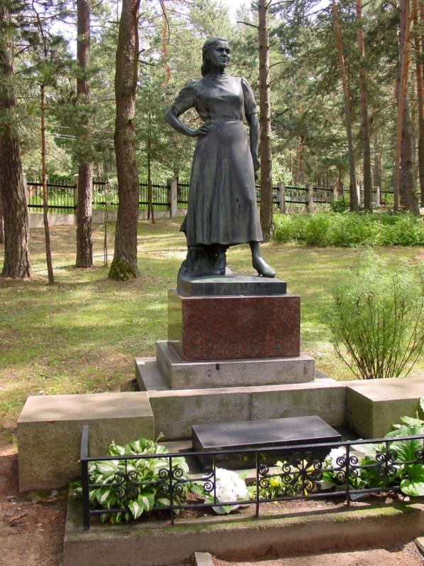 Kapas Kaune, Petrašiūnų kapinėse
