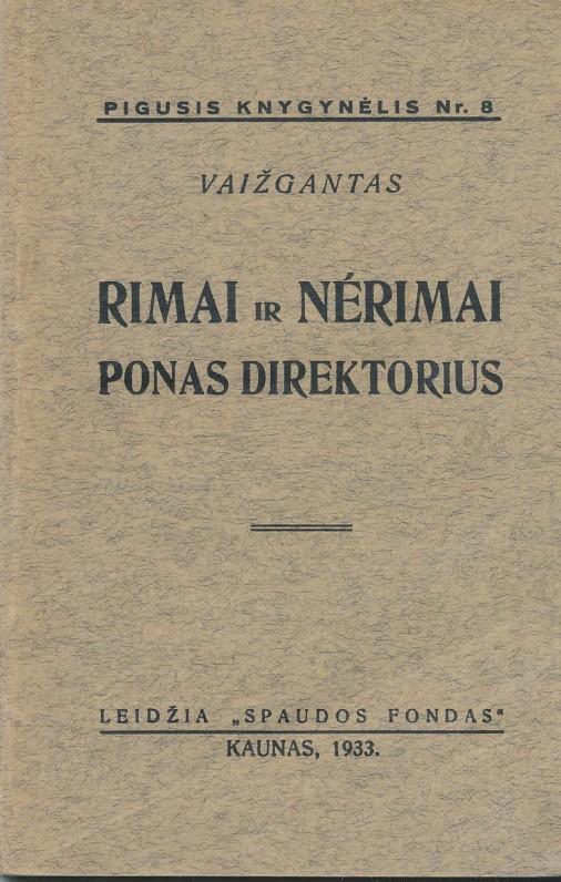 Kaunas, 1933 m..