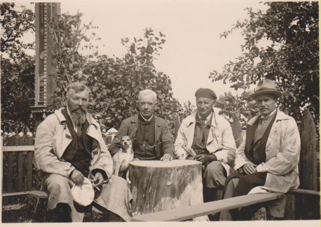 Kauno apylinkėse, apie 1928 m.