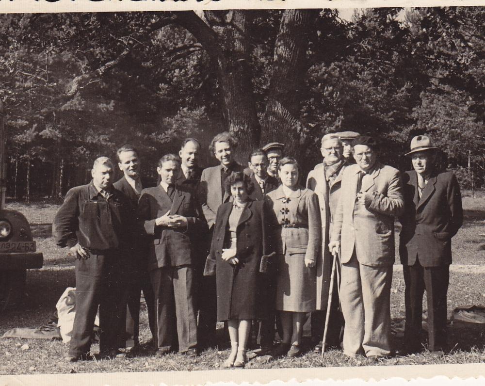 Kelionė į Naugarduką. 1958 m.