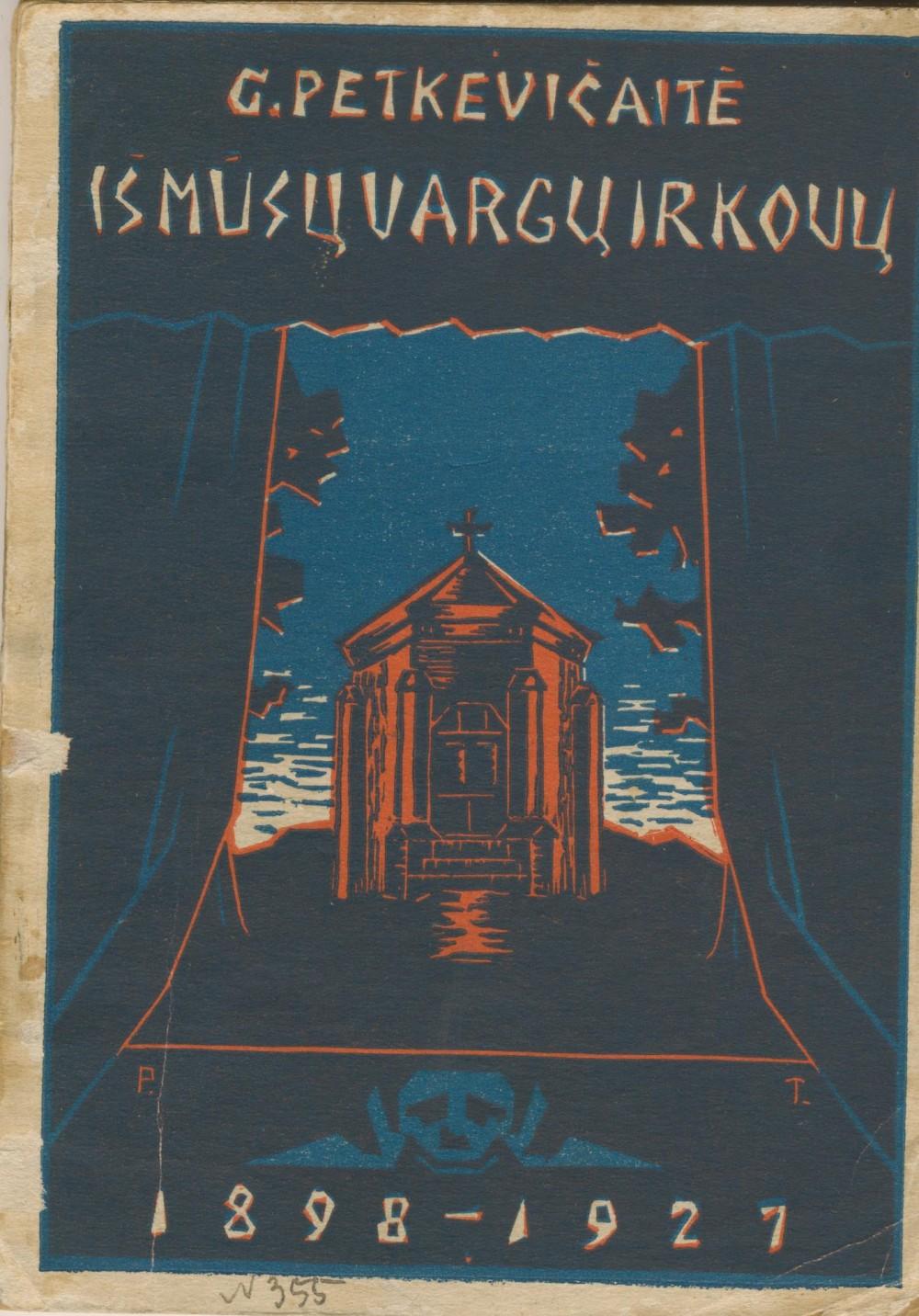 Knyga, skirta Palangos spektaklio 25 metų sukaktuvėms paminėti. Vilnius. 1910 m.