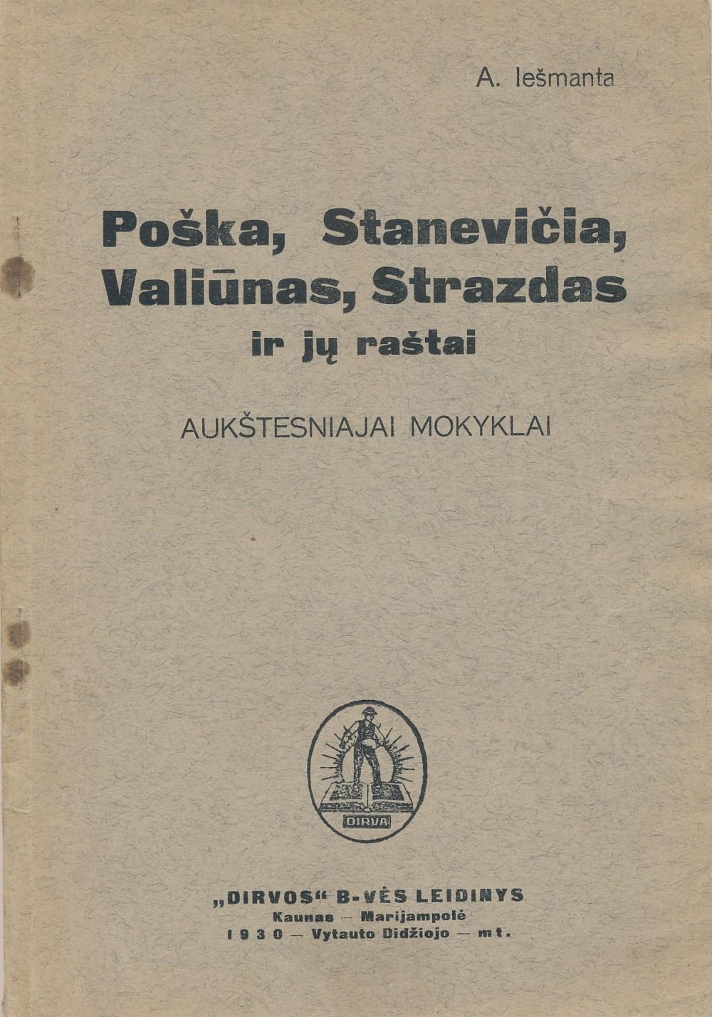 Knygoje pateikiama informacija apie autorius ir spausdinami jų kūrinių tekstai