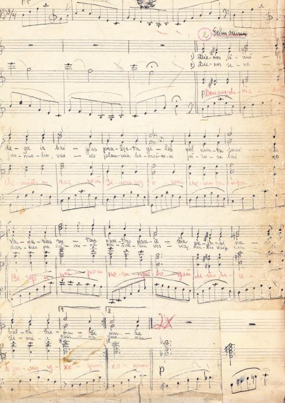 """Komp. Viktoro Kuprevičiaus sukurta muzika Alės Rūtos vaidinimui """"Žiogas ir skruzdės"""""""
