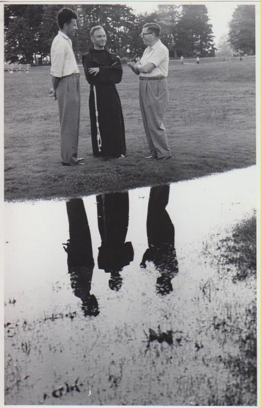 L. Andriekus su J. Girniumi (dešinėje)