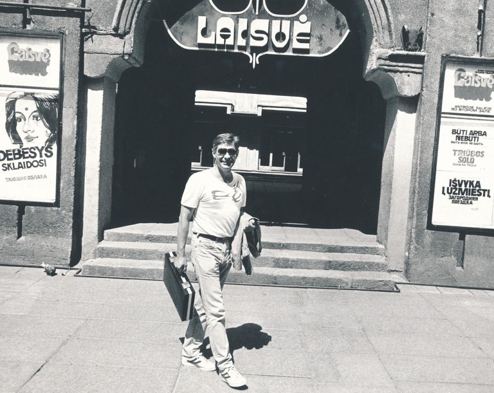 Laisvės alėjoje. 1987 m. R. Rakausko nuotrauka