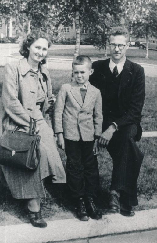 Laivo į JAV belaukiant. Vokietija, 1949 m.