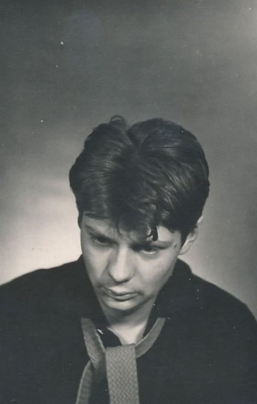 Leonidas Jacinevičius po Kauno darbo jaunimo mokyklos baigimo. 1962 m.
