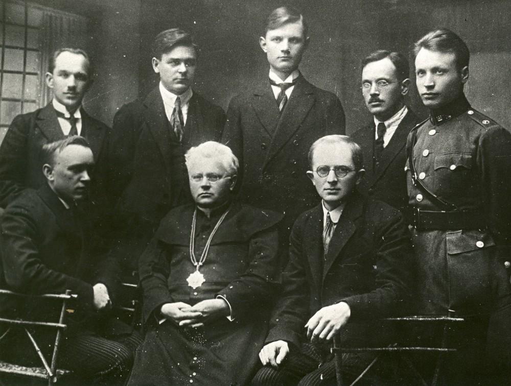 Lietuvių rašytojų ir žurnalistų sąjungos susirinkimas. Kaunas, 1922 m.