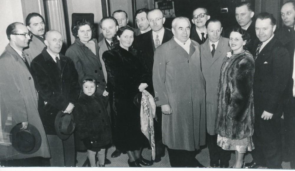 Lietuvos rašytojų draugijos suvažiavimas. Čikaga, 1951 m.