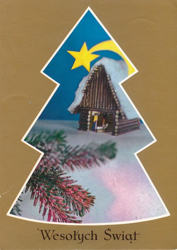 M. Jackevičiaus Kalėdų ir Naujųjų metų sveikinimas I. ir J. Avyžiams. Lenkija, 1986 m.