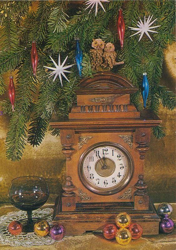 M. Jackevičiaus Kalėdų ir Naujųjų metų sveikinimas I. ir J. Avyžiams. Lenkija, 1987 m.
